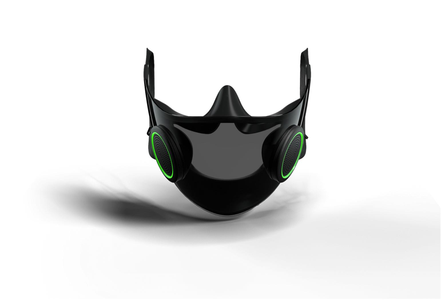 razer project hazel akıllı maske foto