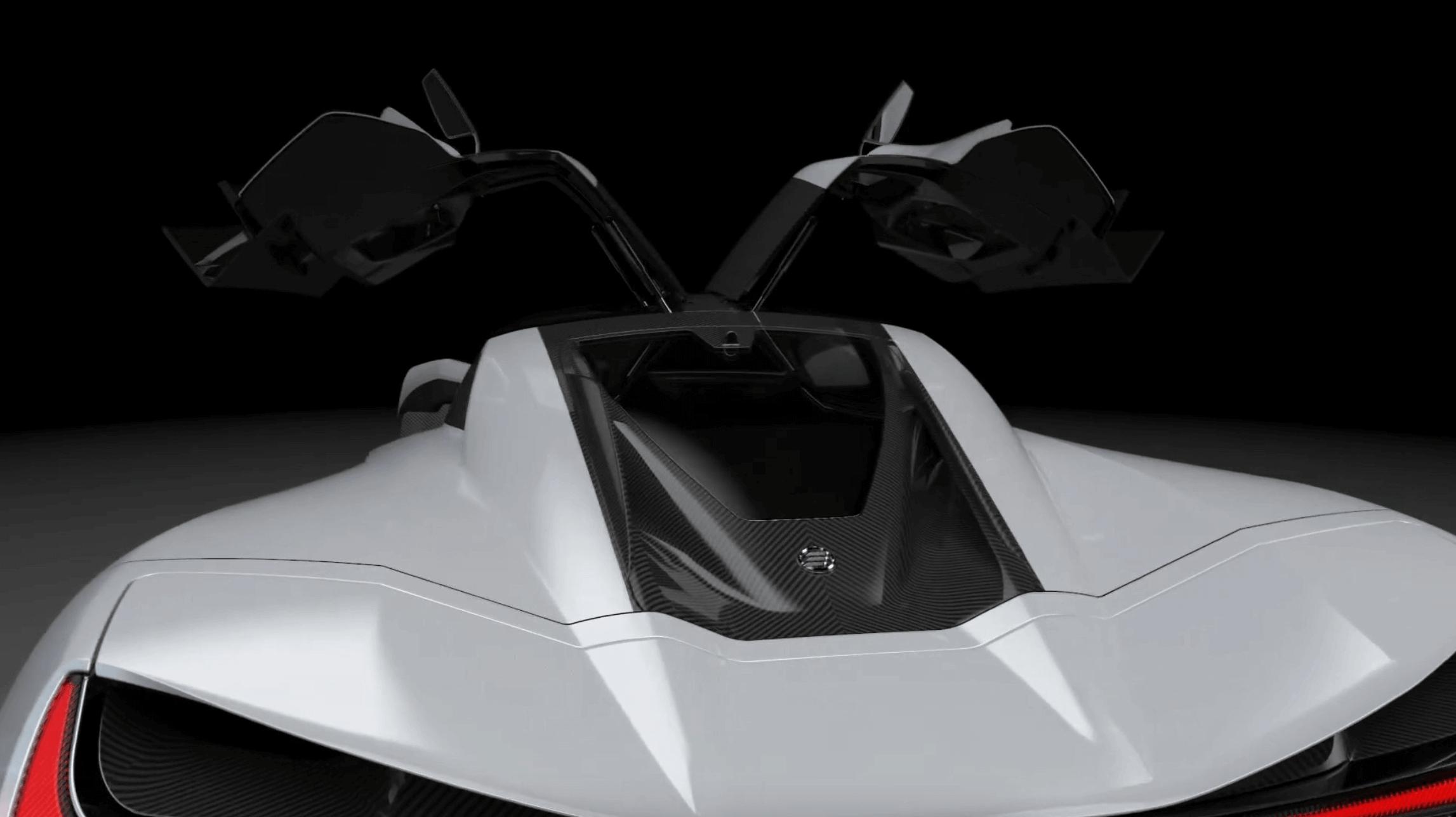 elation hypercars cascadia motian araba tasarım