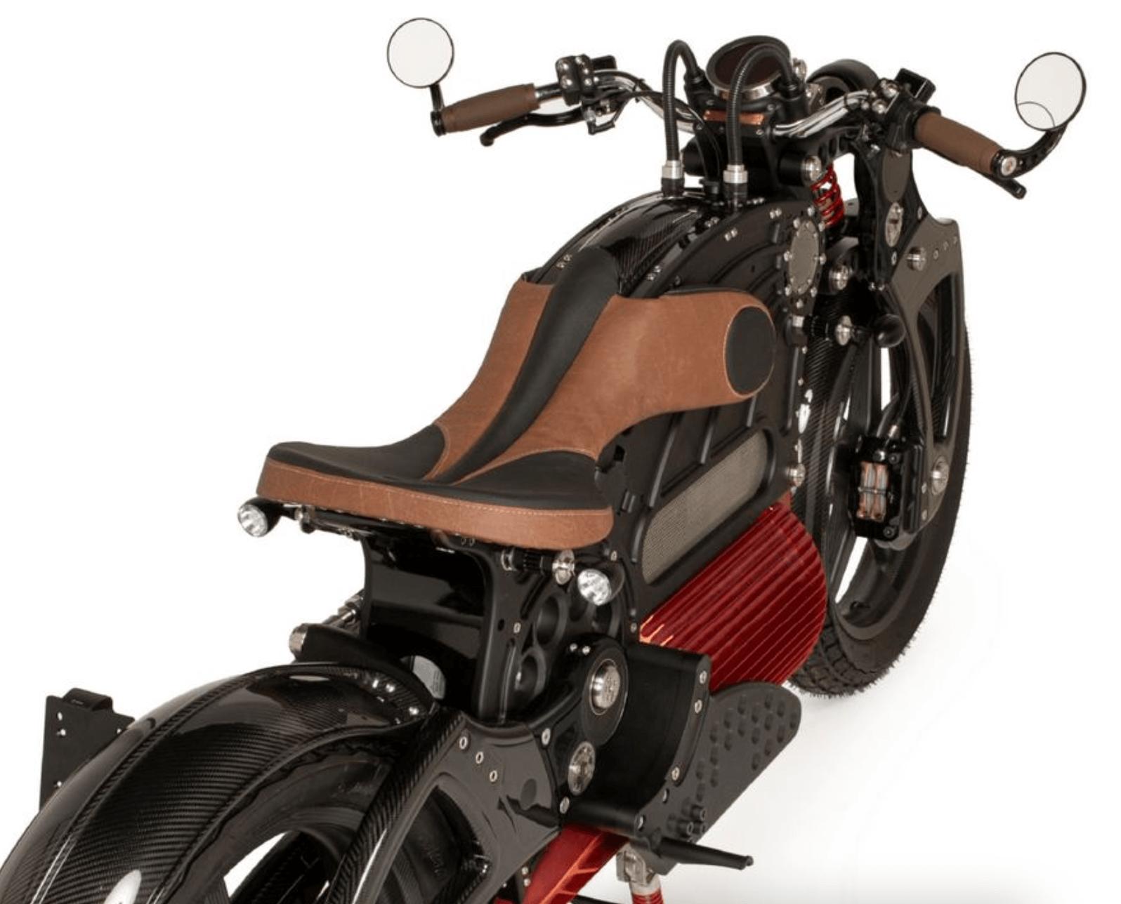 CURTISS MOTORCYCLES, ELEKTRİKLİ MOTORSİKLET TASARIM bilgi