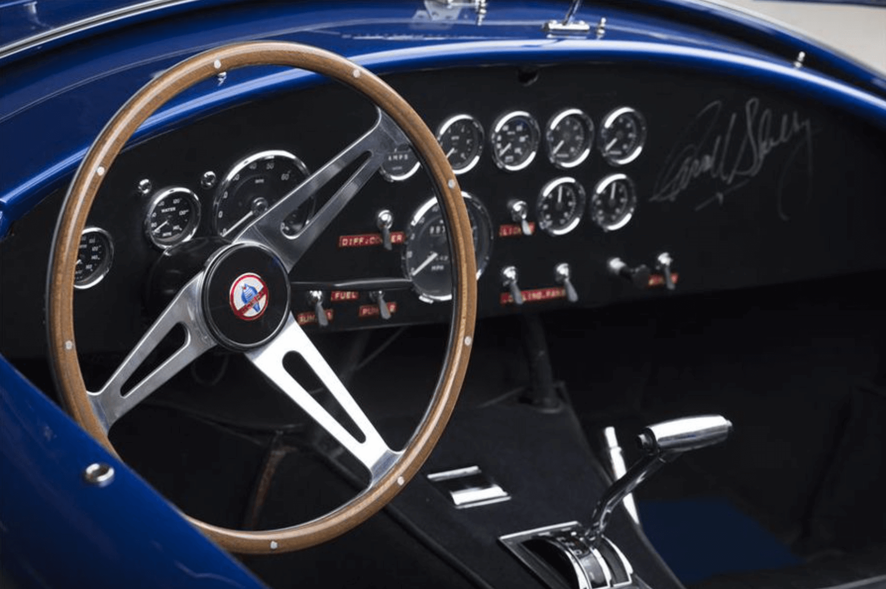 CAROLL SHELBY'S 1966 COBRA 427 SUPER SNAKE blog haber