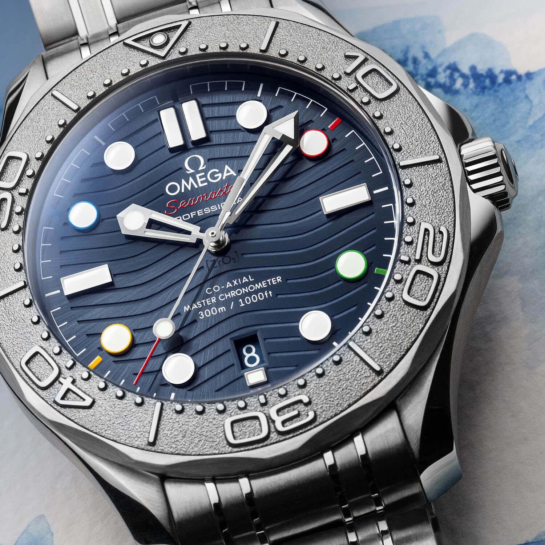 omega seamaster diver 300 beijing saat foto