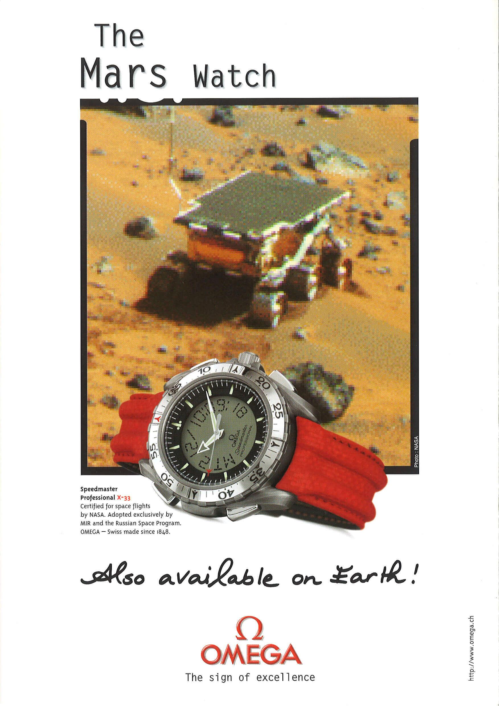 X33 mars watch
