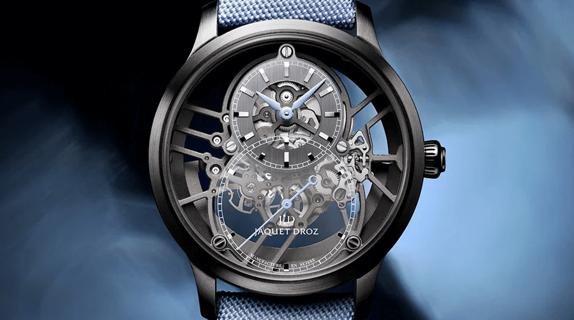 JAQUET DROZ GRANDE SECONDE SKELET-ONE TRİO saat blog yazı