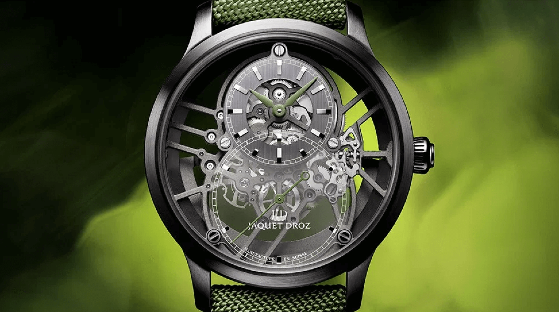 JAQUET DROZ GRANDE SECONDE SKELET-ONE TRİO saat blog haber