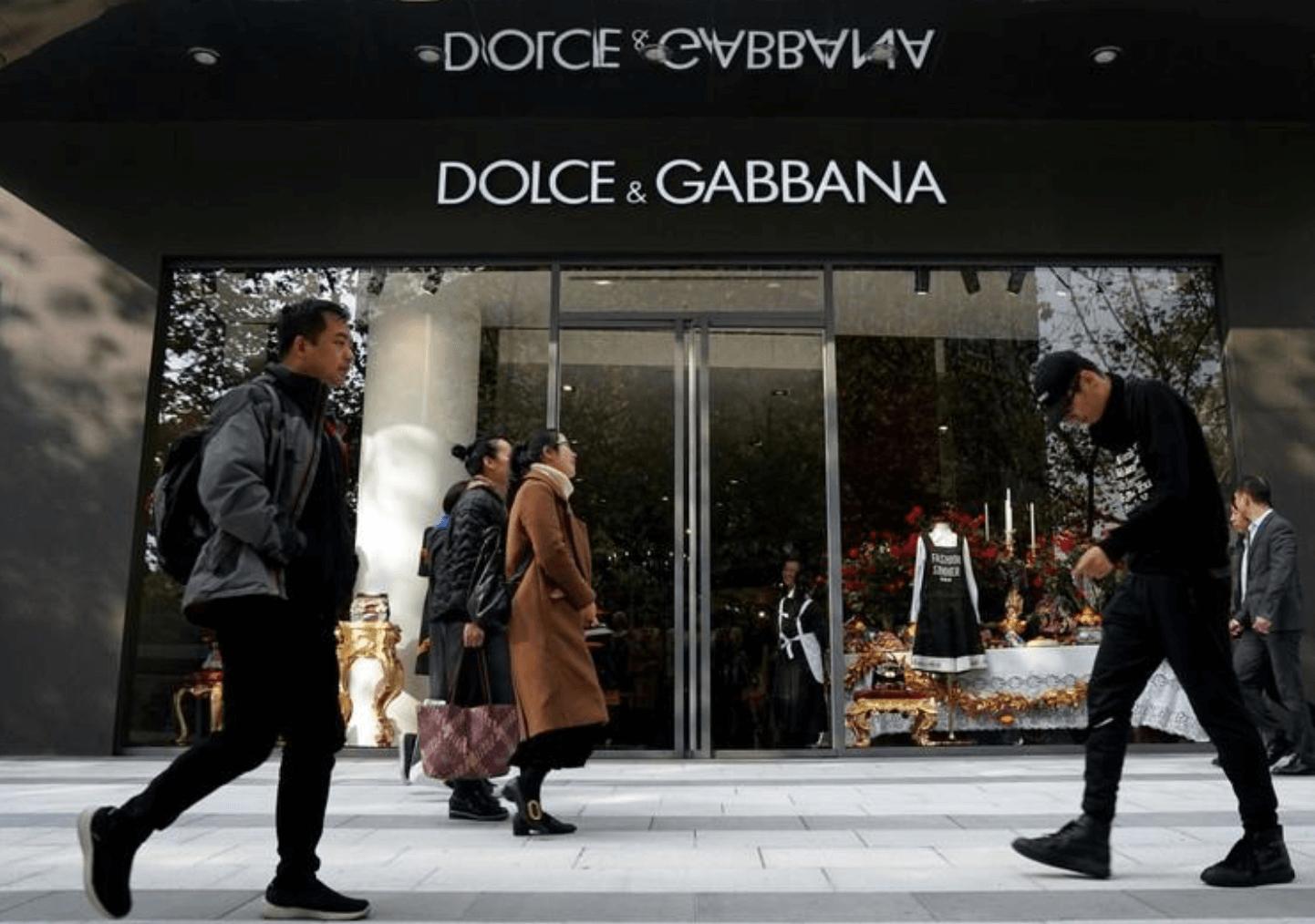 DOLCE&GABANNA, ÇİN'de 3 MAĞAZASINI KAPATTI blog yazıları