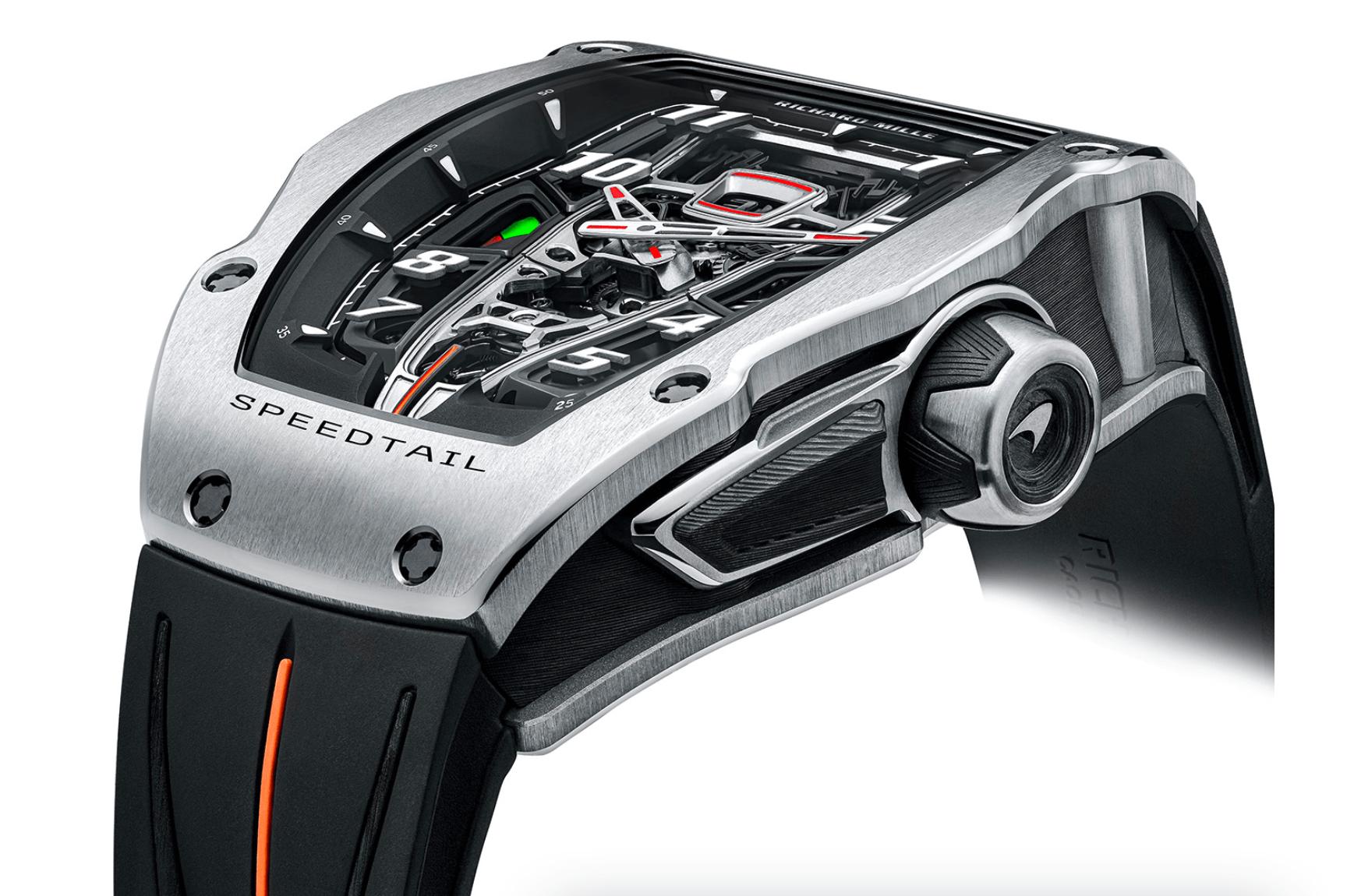Richard Mille RM 40-01 Otomatik Tourbillon McLaren Speedtail saat blog haber
