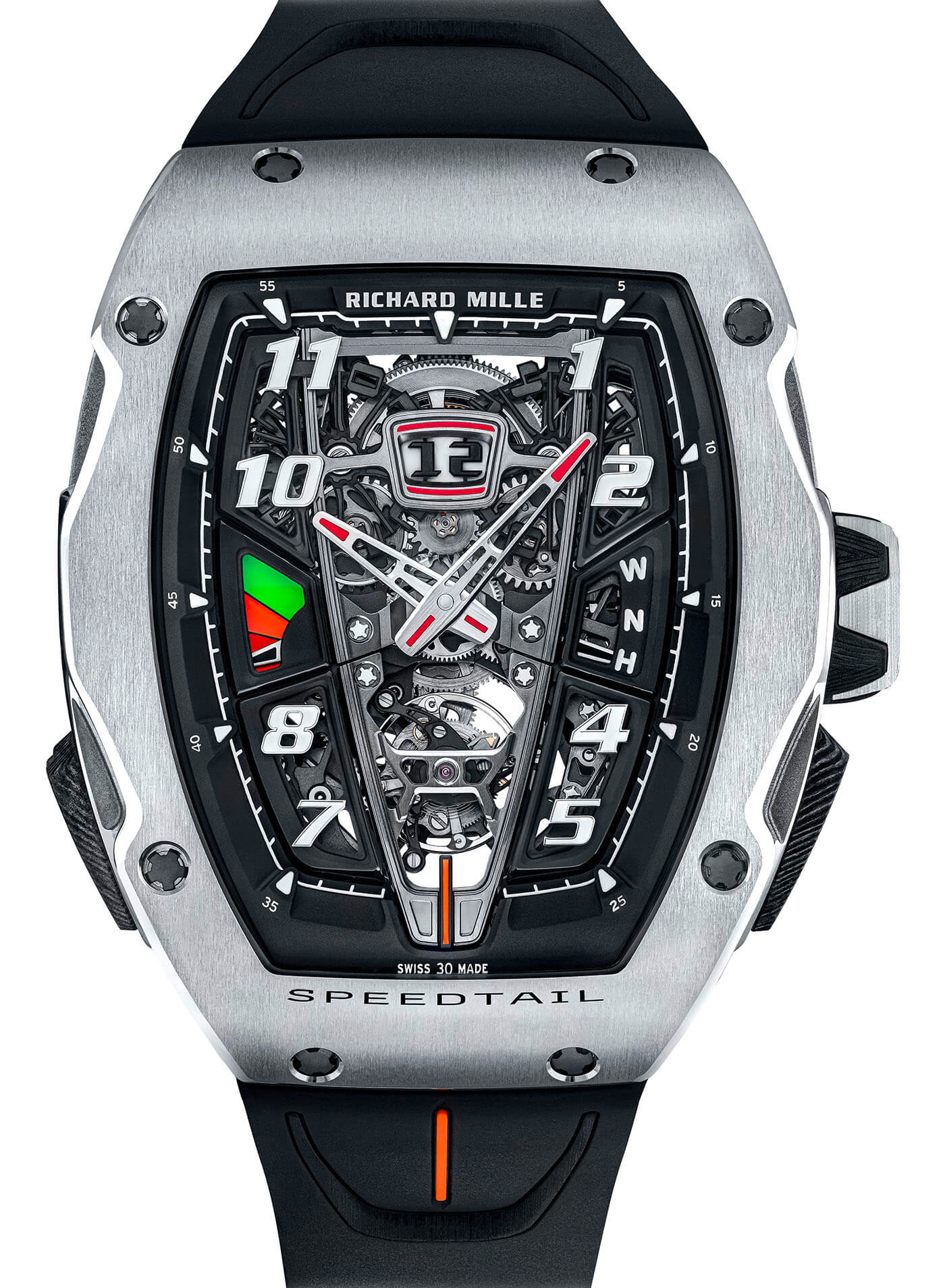 Richard Mille RM 40-01 Otomatik Tourbillon McLaren Speedtail saat bilgi