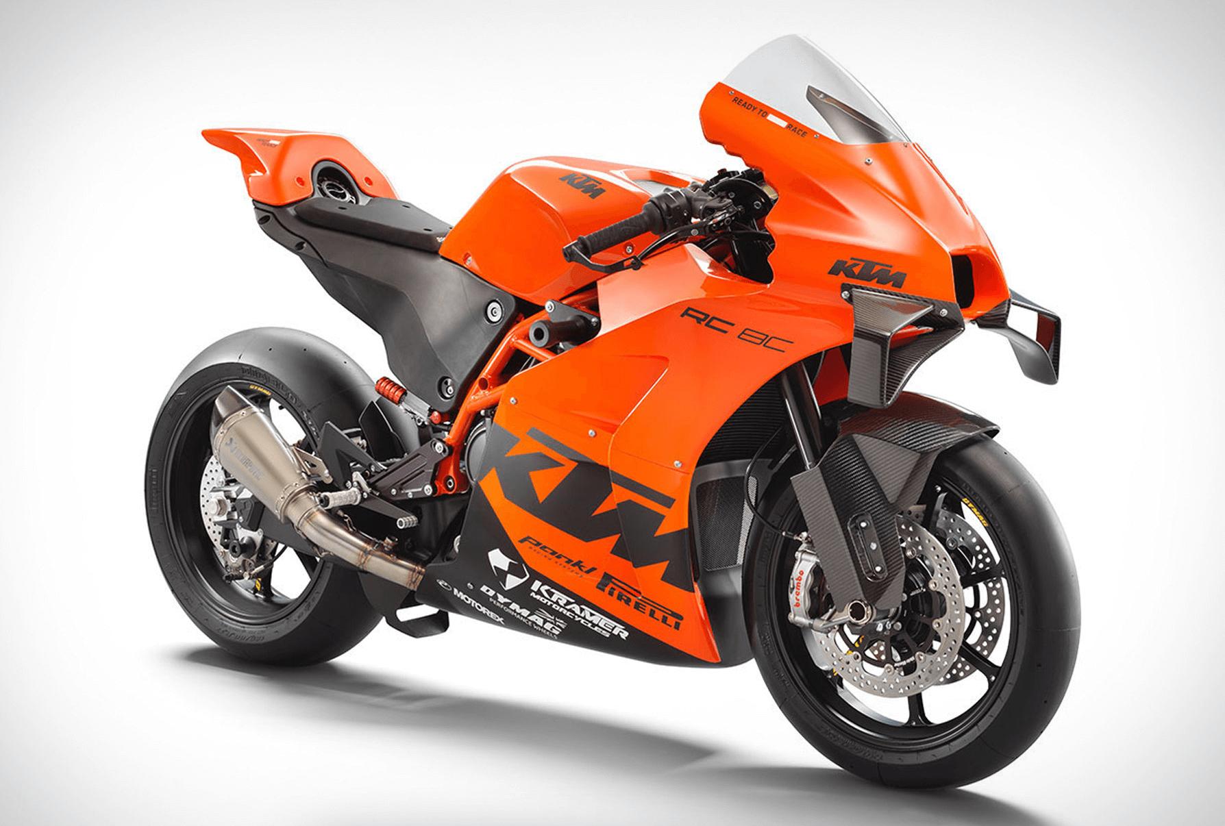 KTM 2022 RC 8C MOTORSİKLET foto