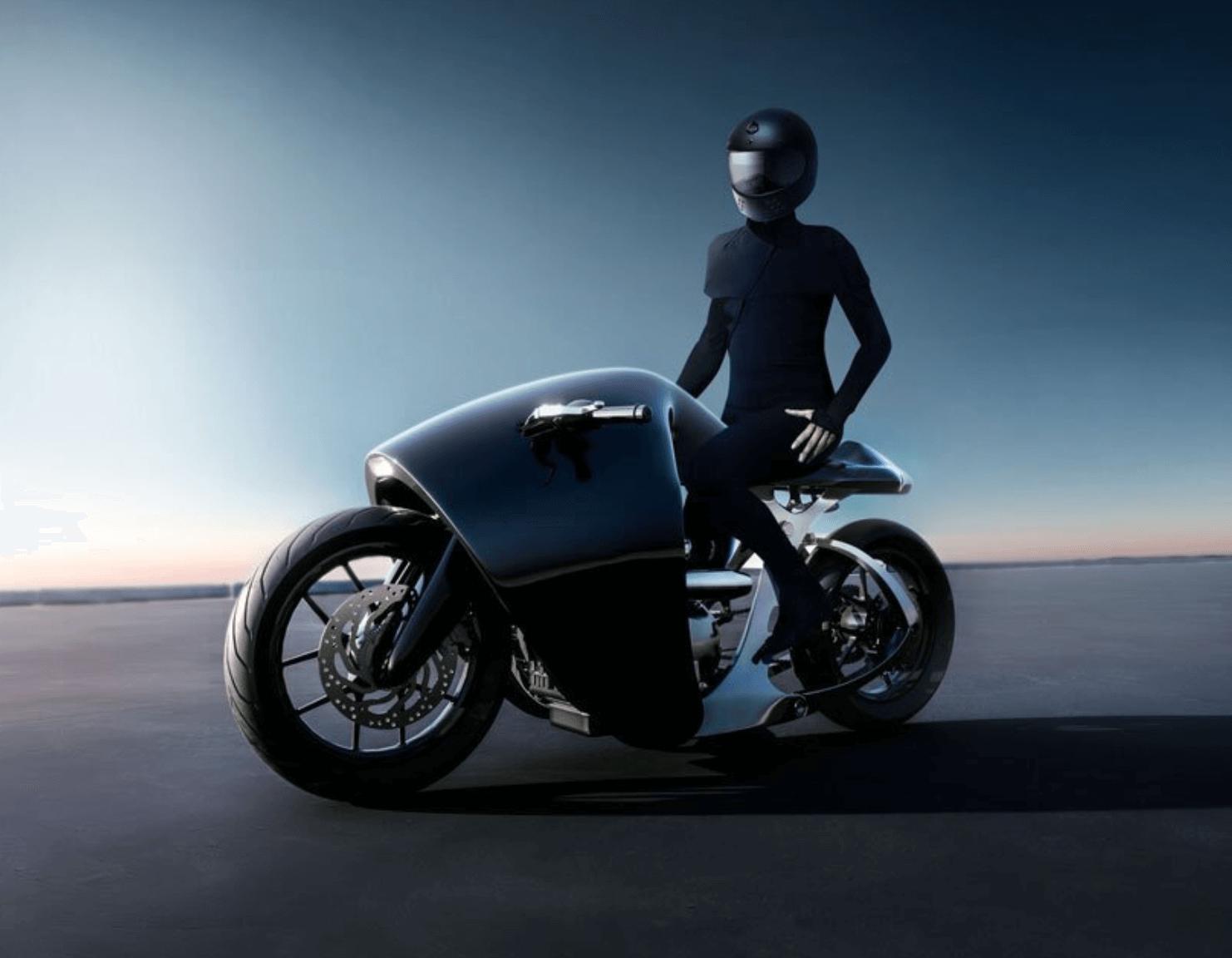 BANDIT9 SUPERMARINE MOTORSİKLET TASARIMI foto