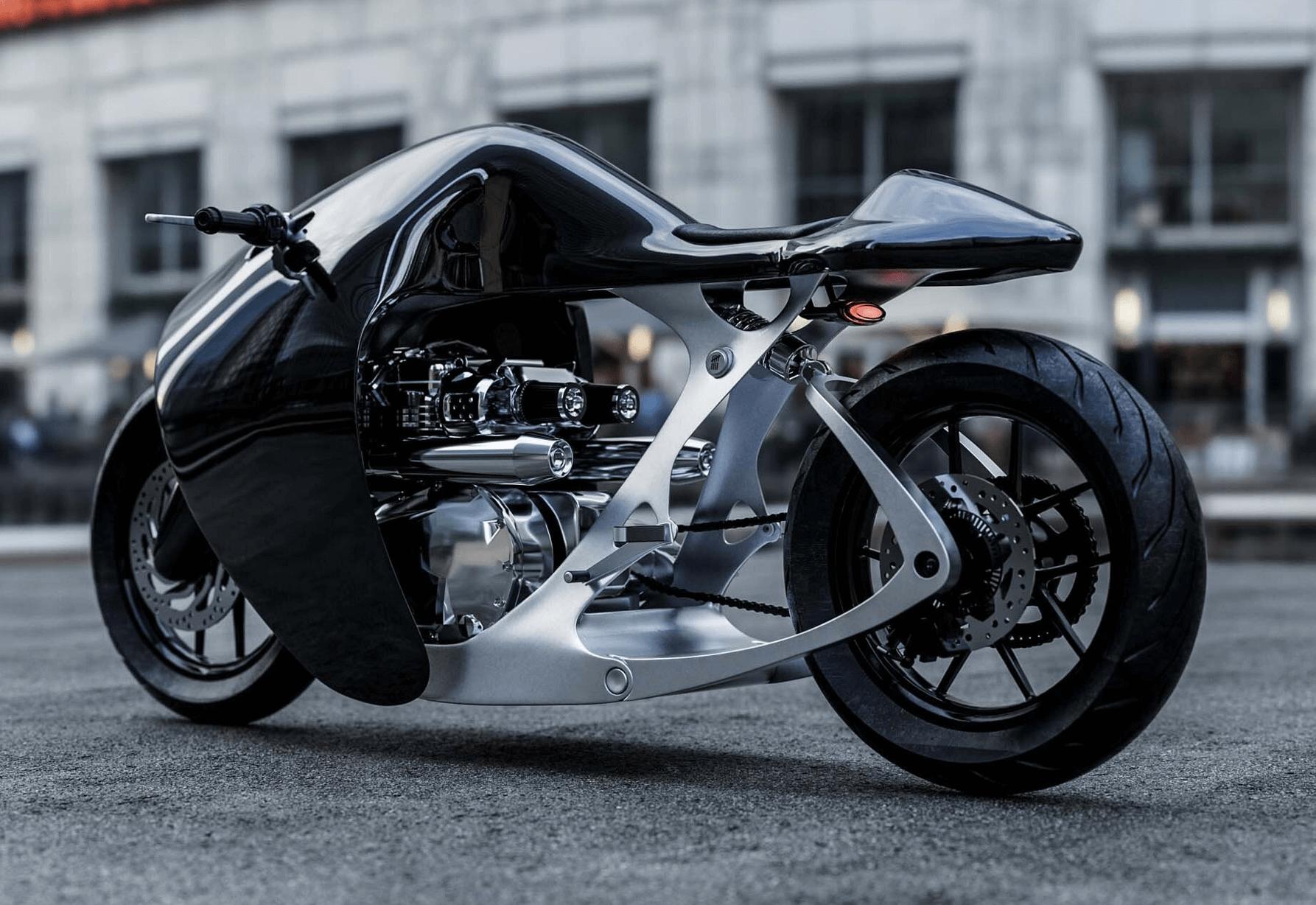 BANDIT9 SUPERMARINE MOTORSİKLET TASARIMI bilgi